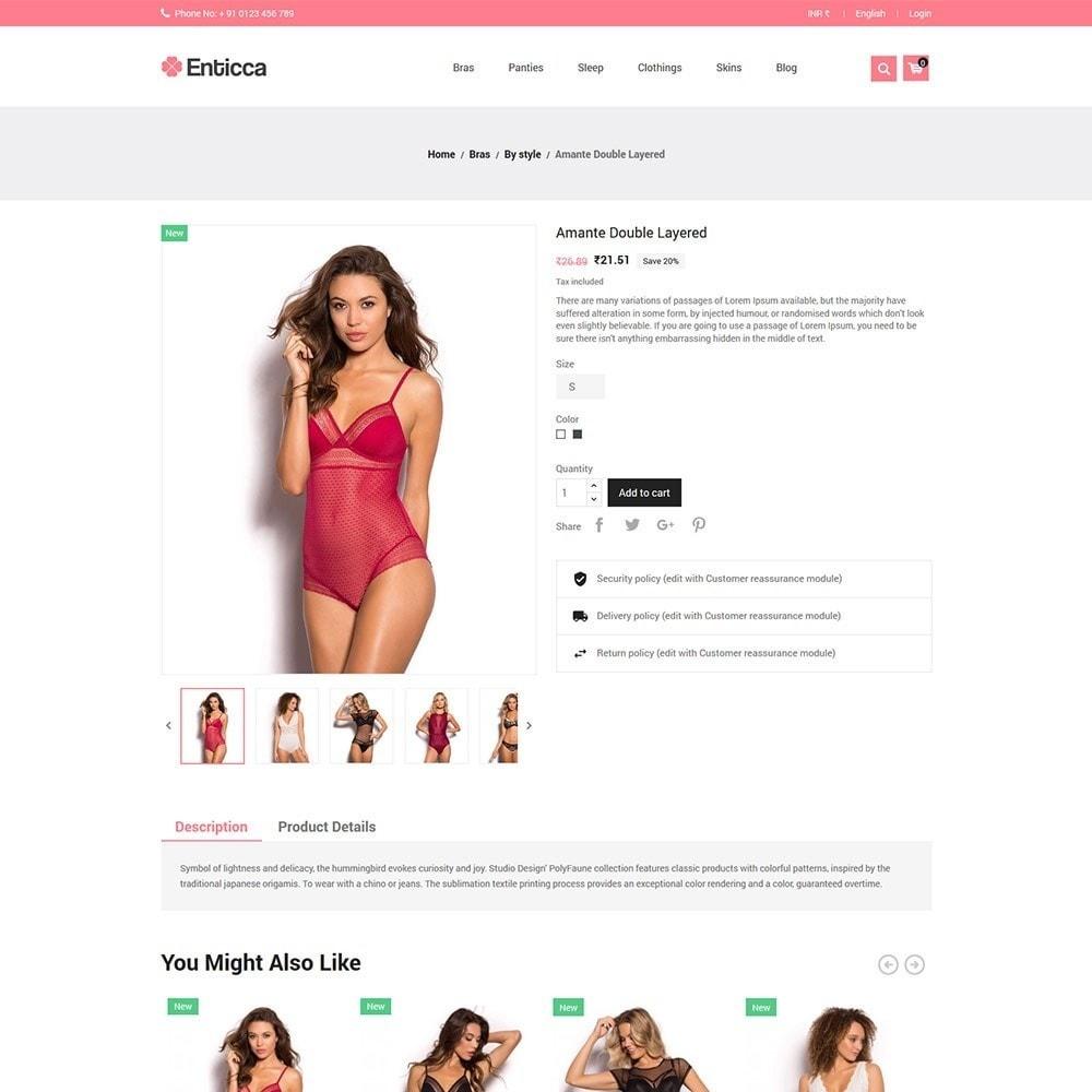 theme - Lingerie & Adult - Entica - Fashion Lingerie Store - 4