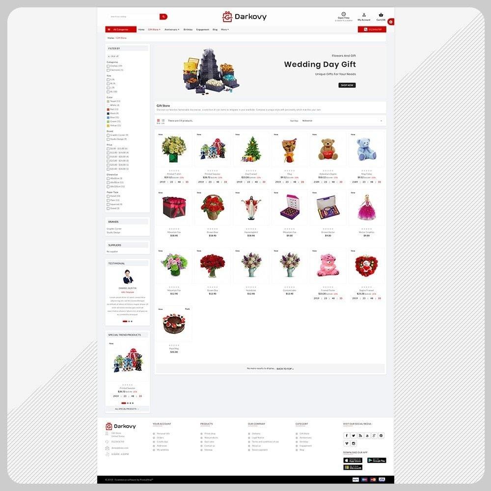 theme - Подарки, Цветы и праздничные товары - Darkovy Gift - The Gift Shop - 3