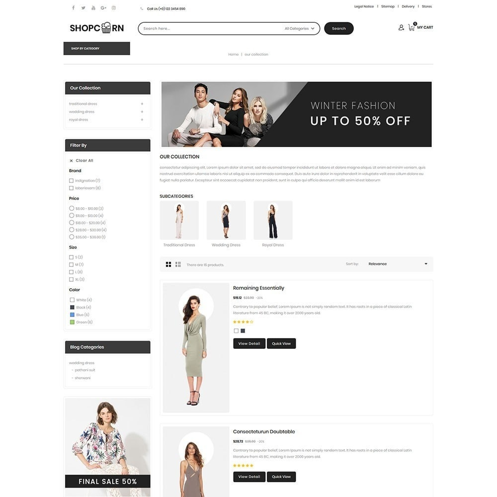 theme - Fashion & Shoes - Shopcorn - The fashion Store - 5