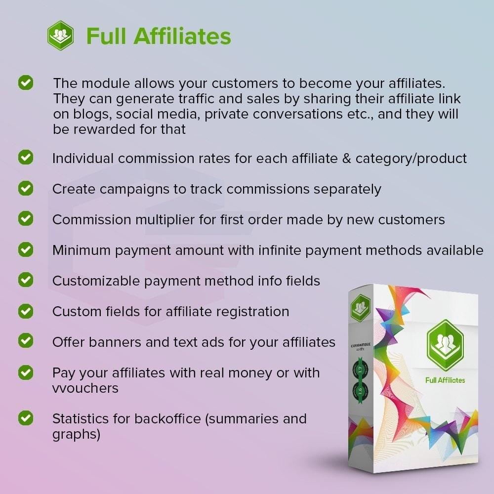 module - Référencement payant (SEA SEM) & Affiliation - Full Affiliés - 1