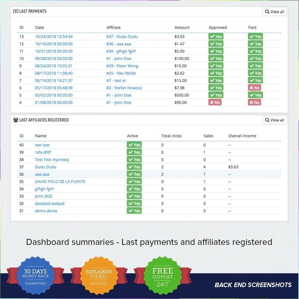 module - Référencement payant (SEA SEM) & Affiliation - Full Affiliés - 21