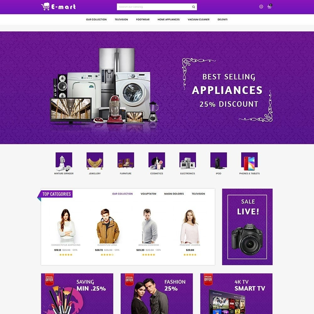 theme - Fashion & Shoes - Emart - The Mega Store - 3