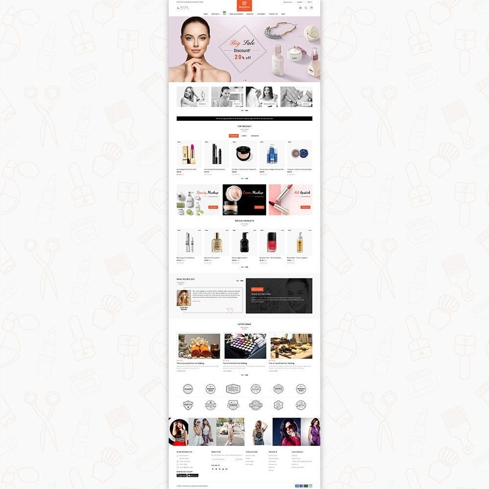 theme - Health & Beauty - Beautica - The Cosmetic Store - 2