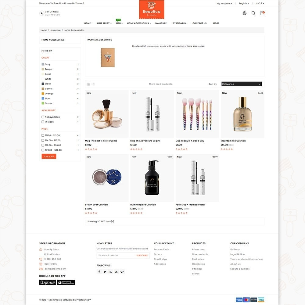 theme - Health & Beauty - Beautica - The Cosmetic Store - 3