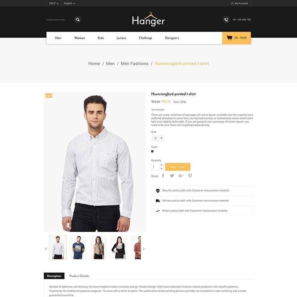 theme - Fashion & Shoes - Hanger Fashion Store - 5