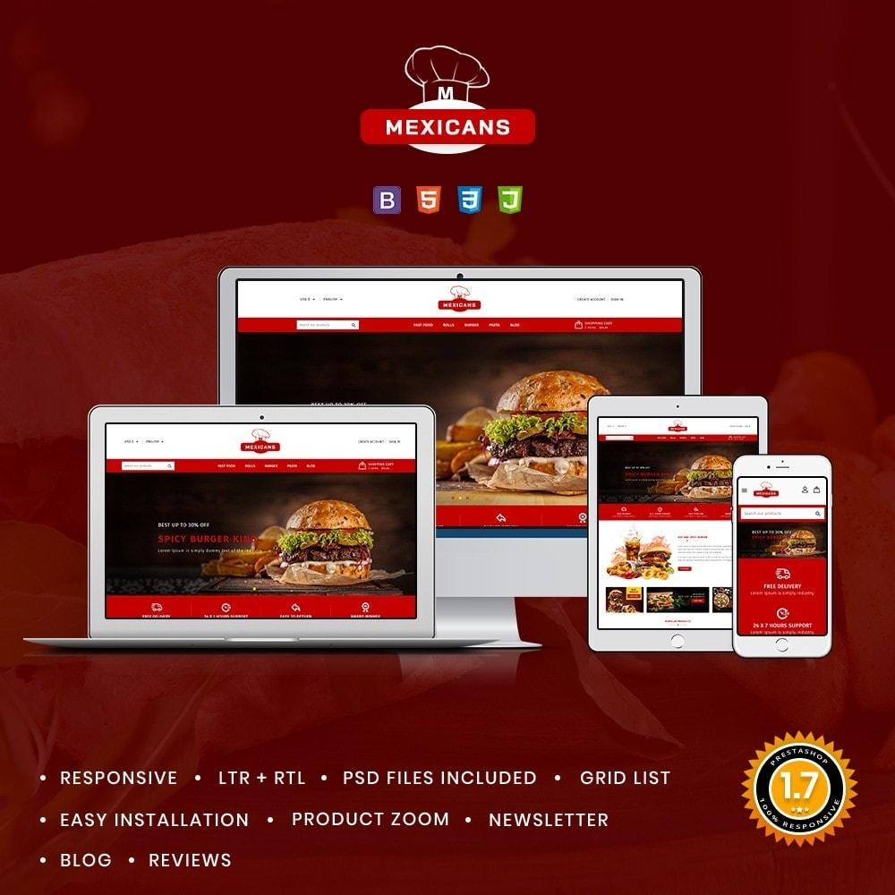 theme - Food & Restaurant - Maxicans Food - 1