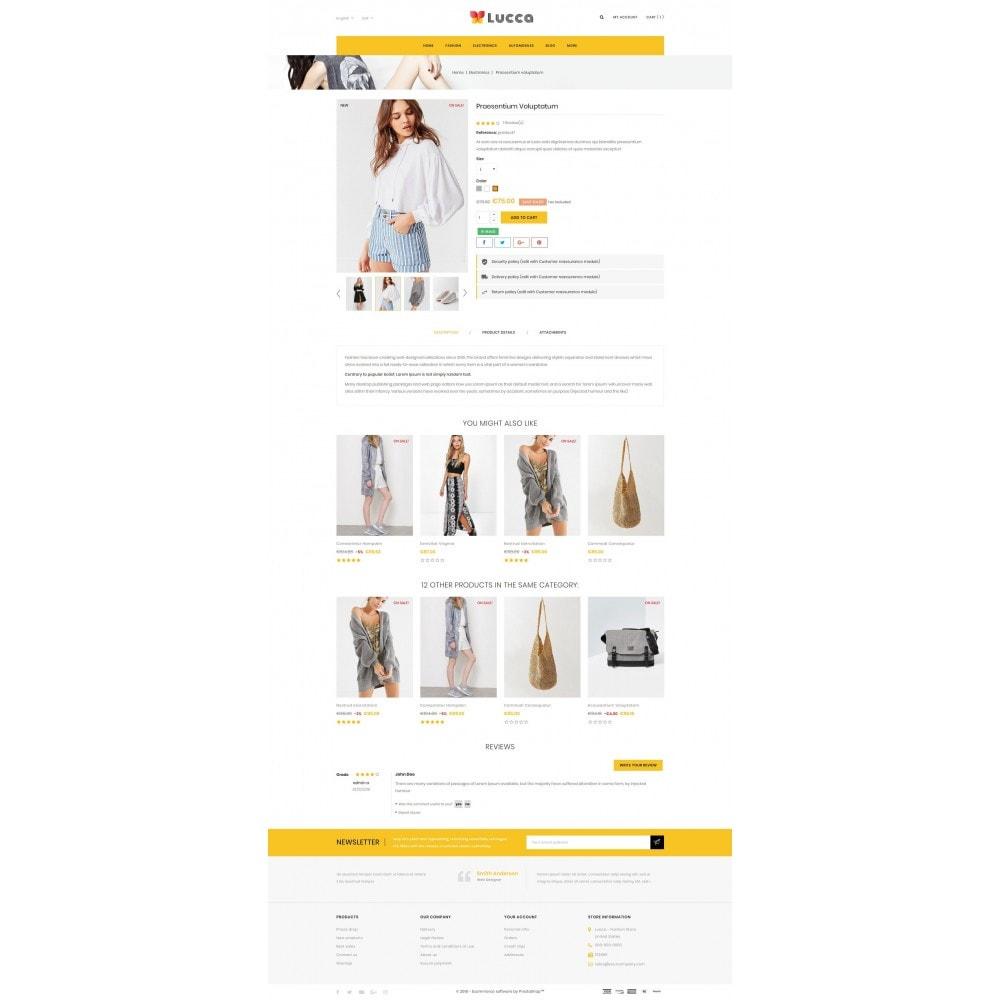 theme - Мода и обувь - Lucca - Apparel store - 5