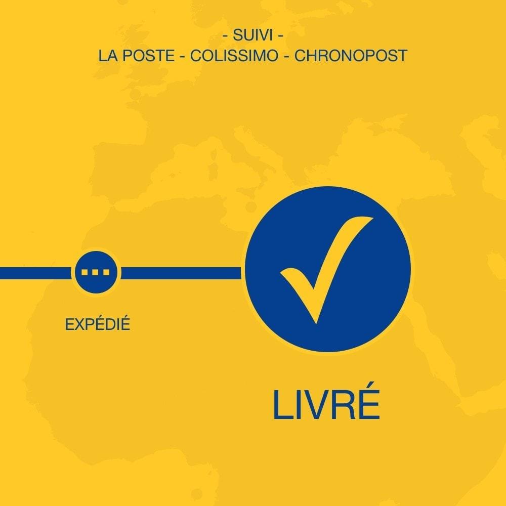 module - Suivi de livraison - Suivi La Poste, Colissimo & Chronopost - 1