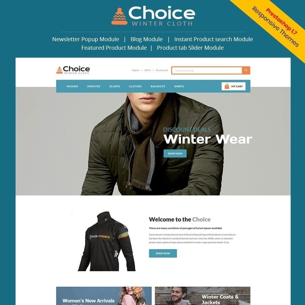 theme - Mode & Chaussures - Magasin de mode Choice - 1
