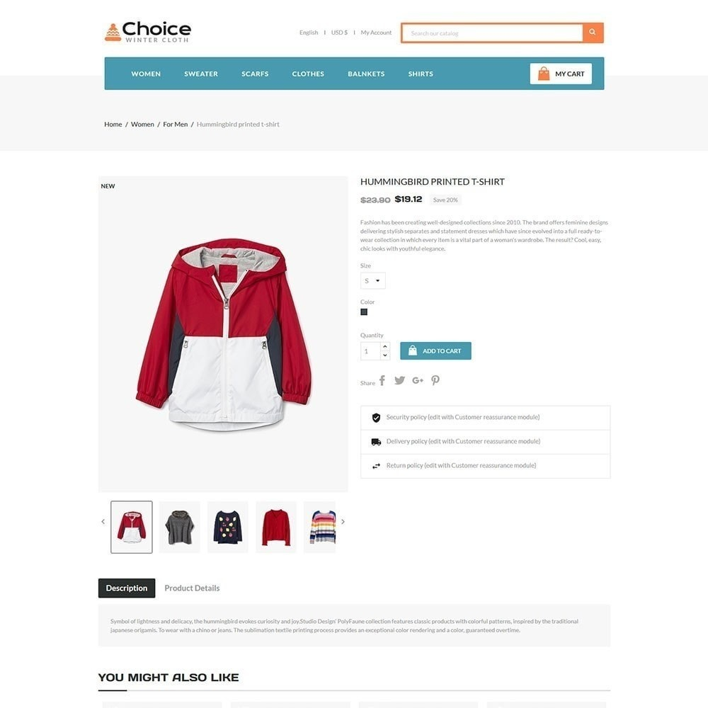 theme - Mode & Chaussures - Magasin de mode Choice - 5