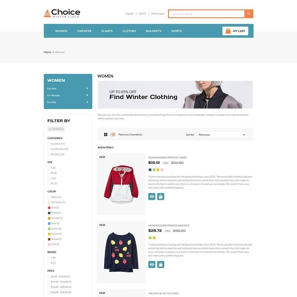 theme - Mode & Schuhe - Choice Fashion Store - 3