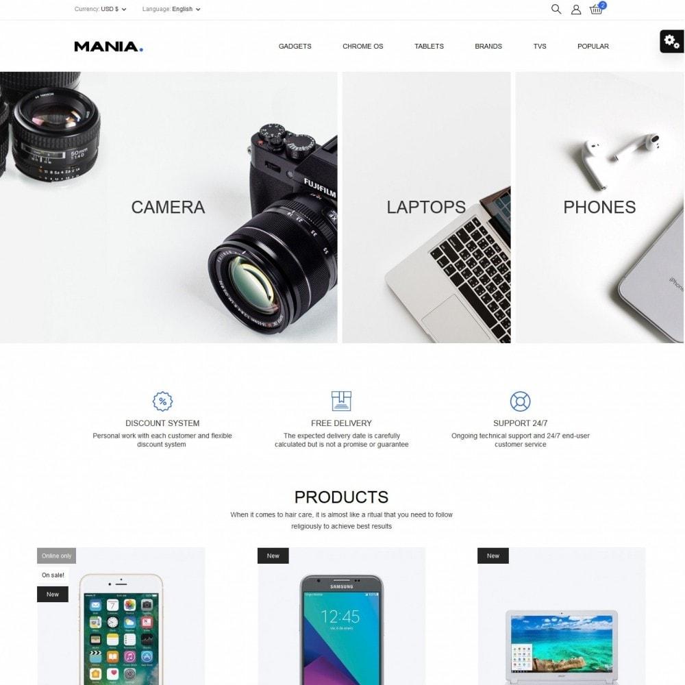 theme - Electronics & Computers - Mania - High-tech Shop - 2