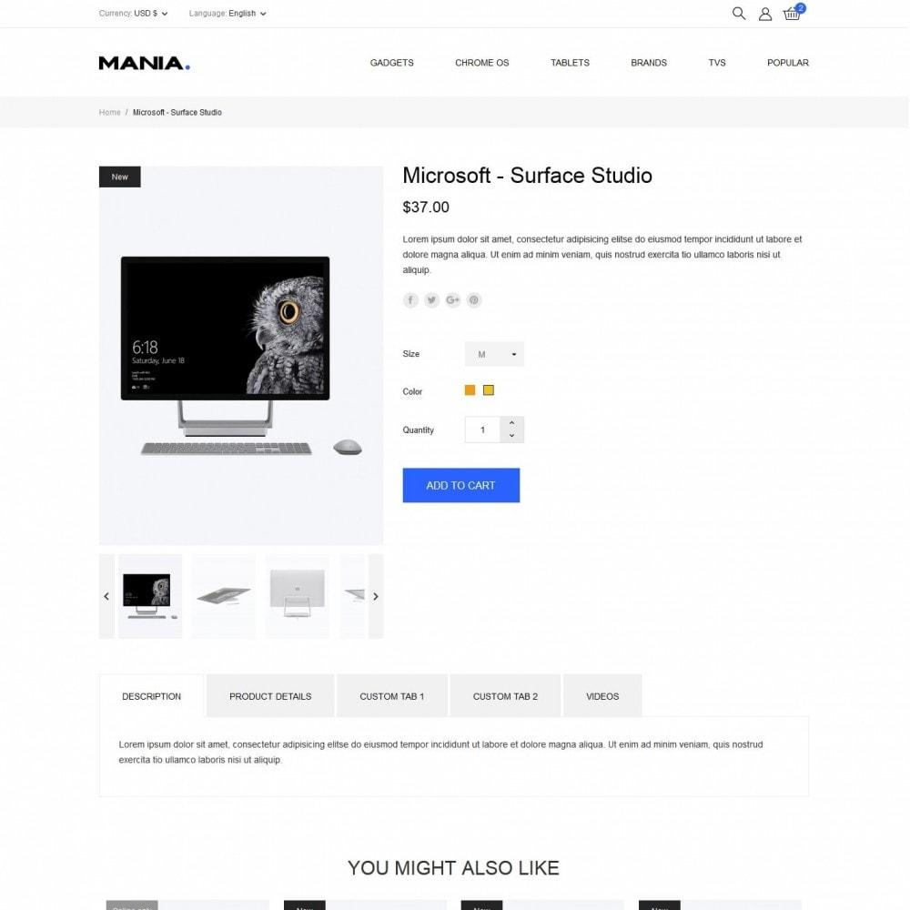 theme - Electronics & Computers - Mania - High-tech Shop - 6