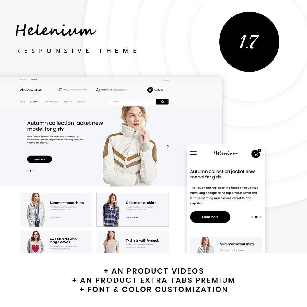 theme - Fashion & Shoes - Helenium Fashion Store - 1
