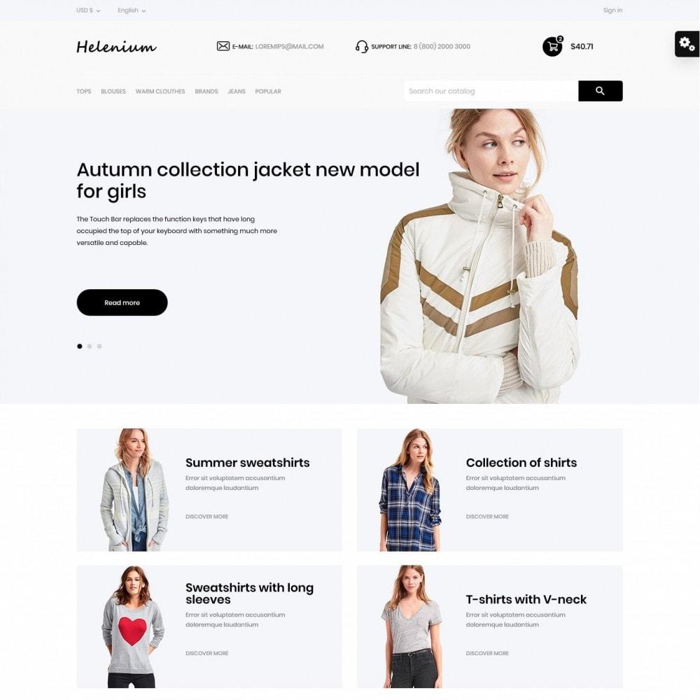 theme - Fashion & Shoes - Helenium Fashion Store - 2