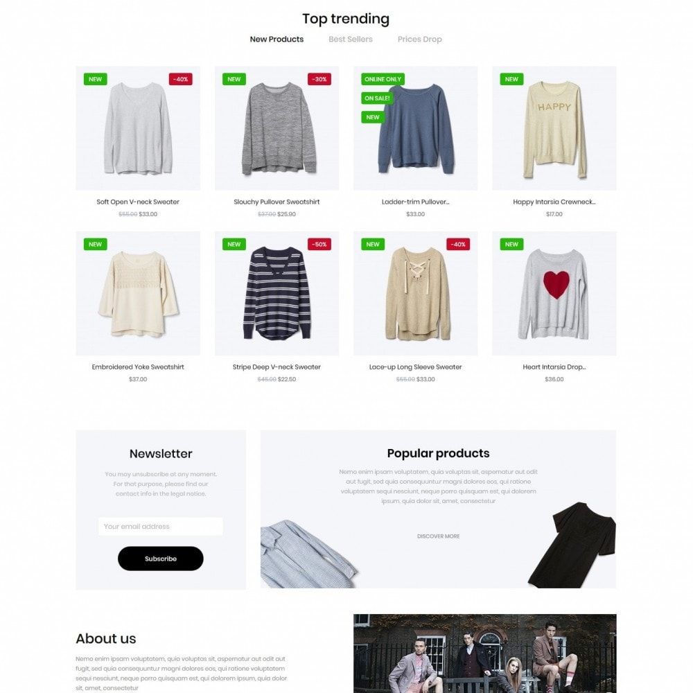 theme - Fashion & Shoes - Helenium Fashion Store - 3