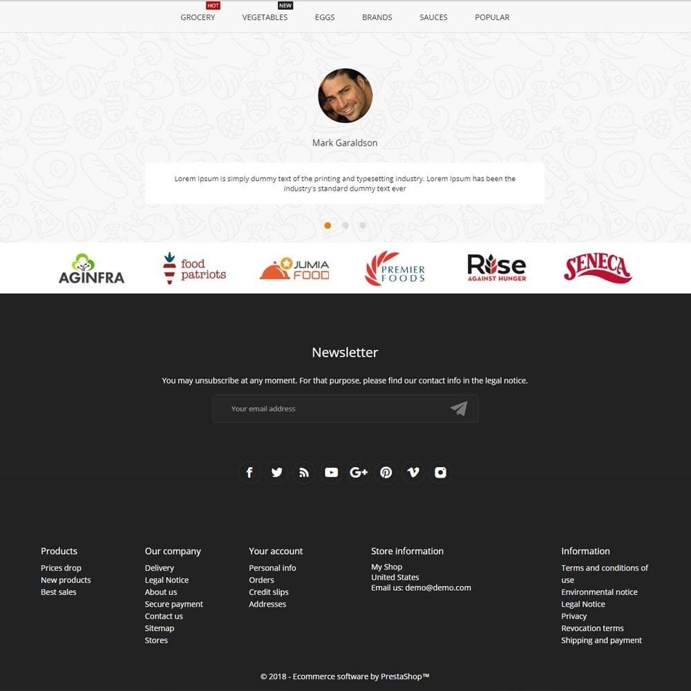 theme - Alimentos & Restaurantes - Tittos - 4