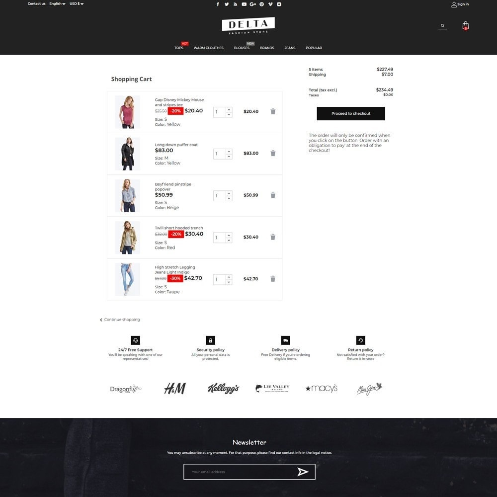 theme - Mode & Schoenen - Delta Fashion Store - 7