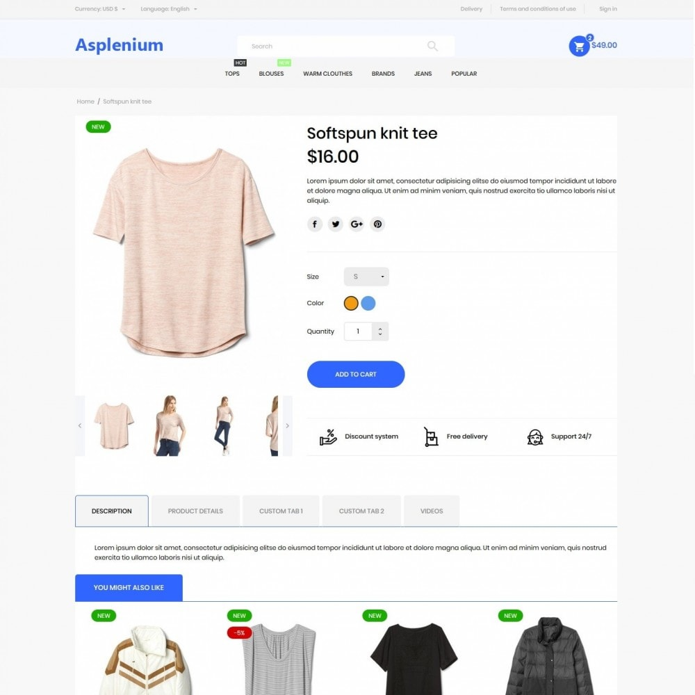 theme - Fashion & Shoes - Asplenium Fashion Store - 6