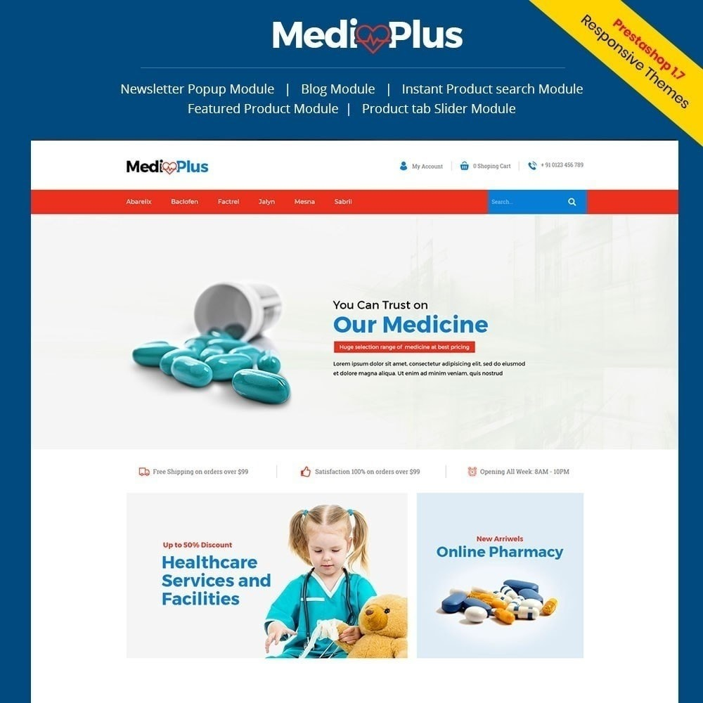 theme - Health & Beauty - Medical - Drug  Store - 1