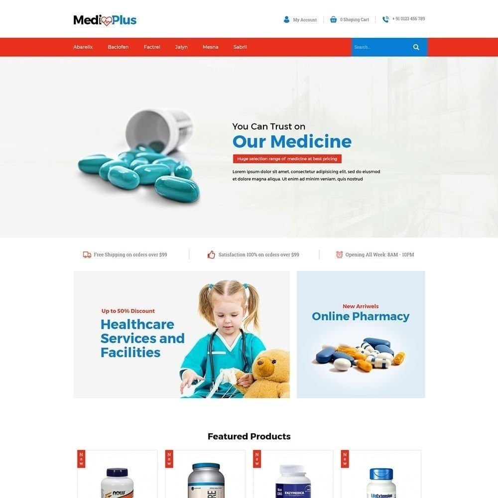 theme - Health & Beauty - Medical - Drug  Store - 2