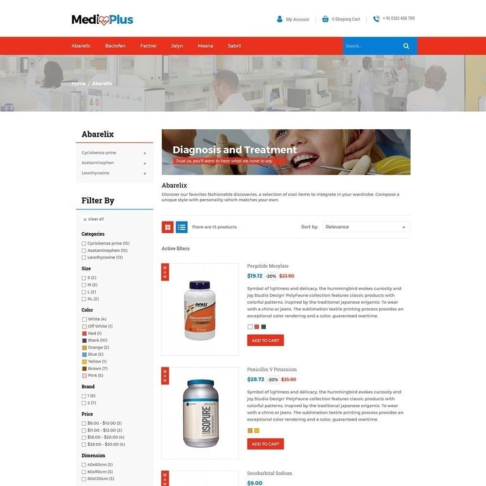 theme - Health & Beauty - Medical - Drug  Store - 4