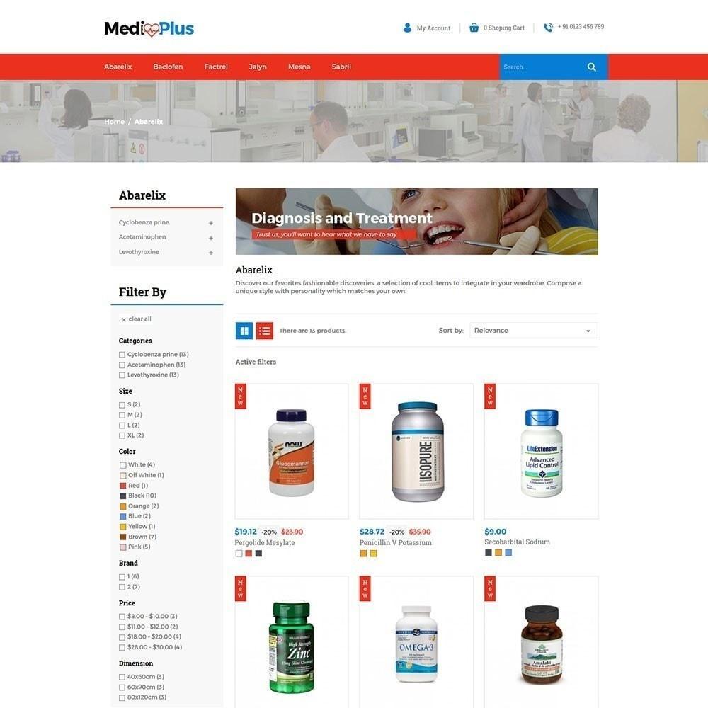 theme - Santé & Beauté - Médical - Pharmacie - 2