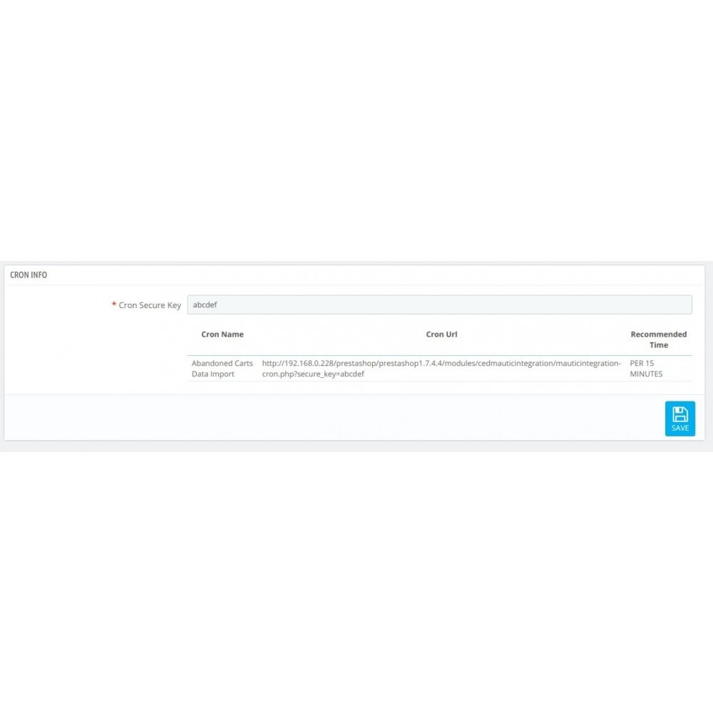 module - Notifications & Automatic Emails - CedCommerce Mautic Integration - 6
