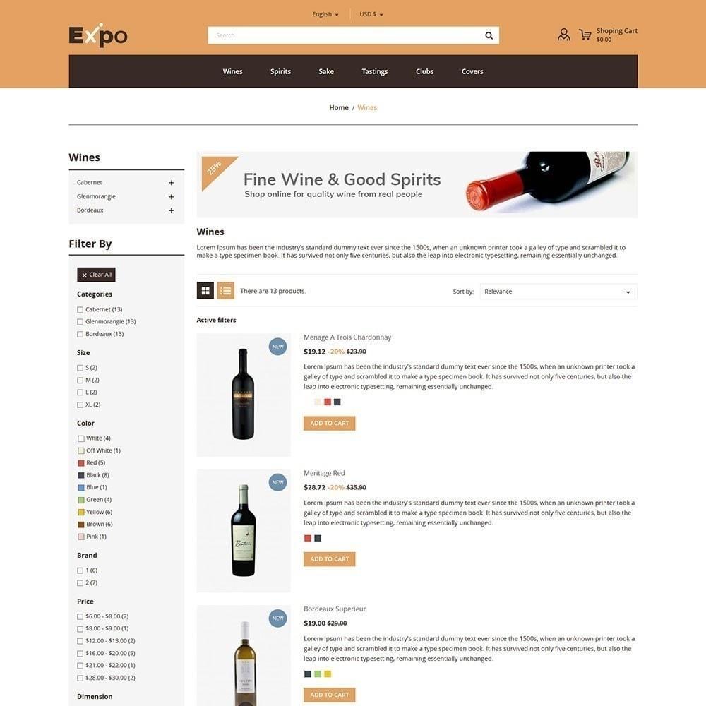 theme - Getränke & Tabak - Expo - Weinhandlung - 5
