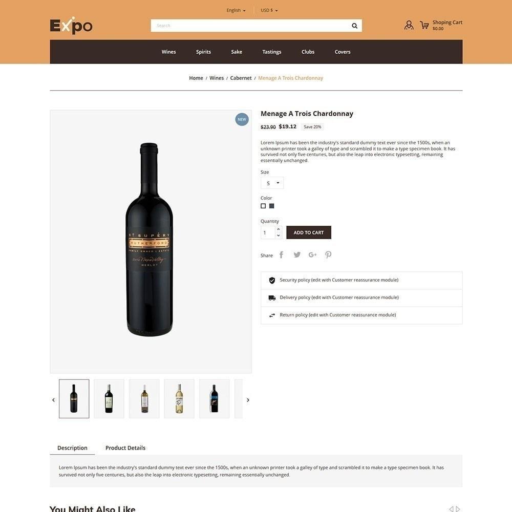 theme - Getränke & Tabak - Expo - Weinhandlung - 6