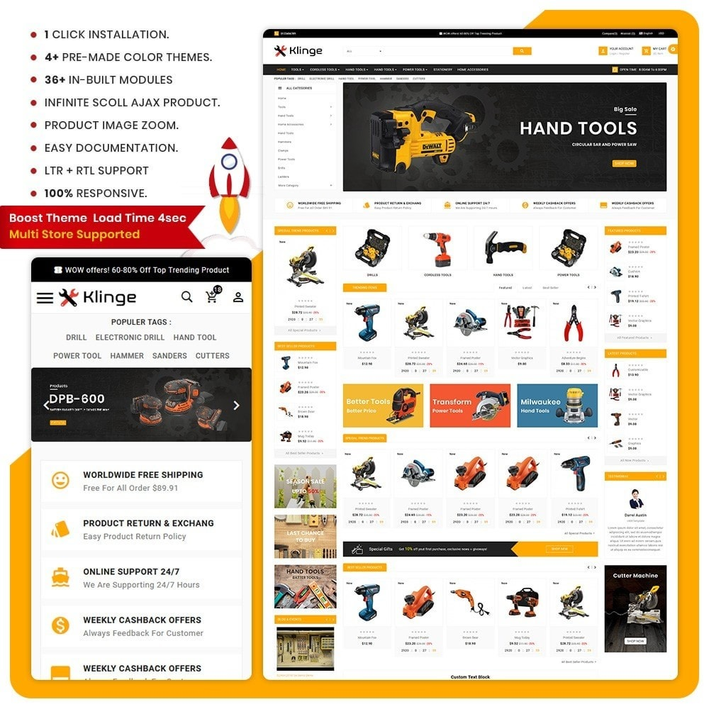 theme - Automotive & Cars - Outils – Tools Large Mall - 1