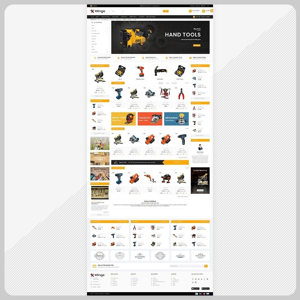 theme - Automotive & Cars - Outils – Tools Large Mall - 2