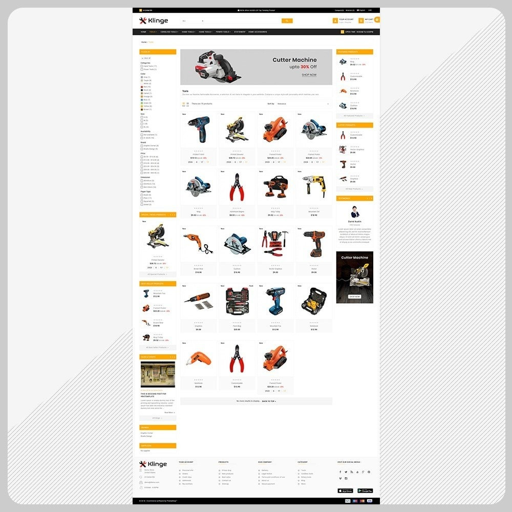 theme - Automotive & Cars - Outils – Tools Large Mall - 3