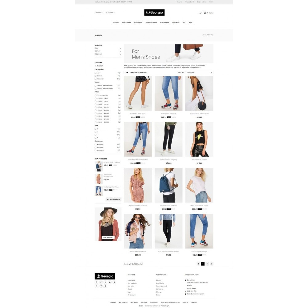 theme - Moda y Calzado - Georgio - Fashion Store - 3