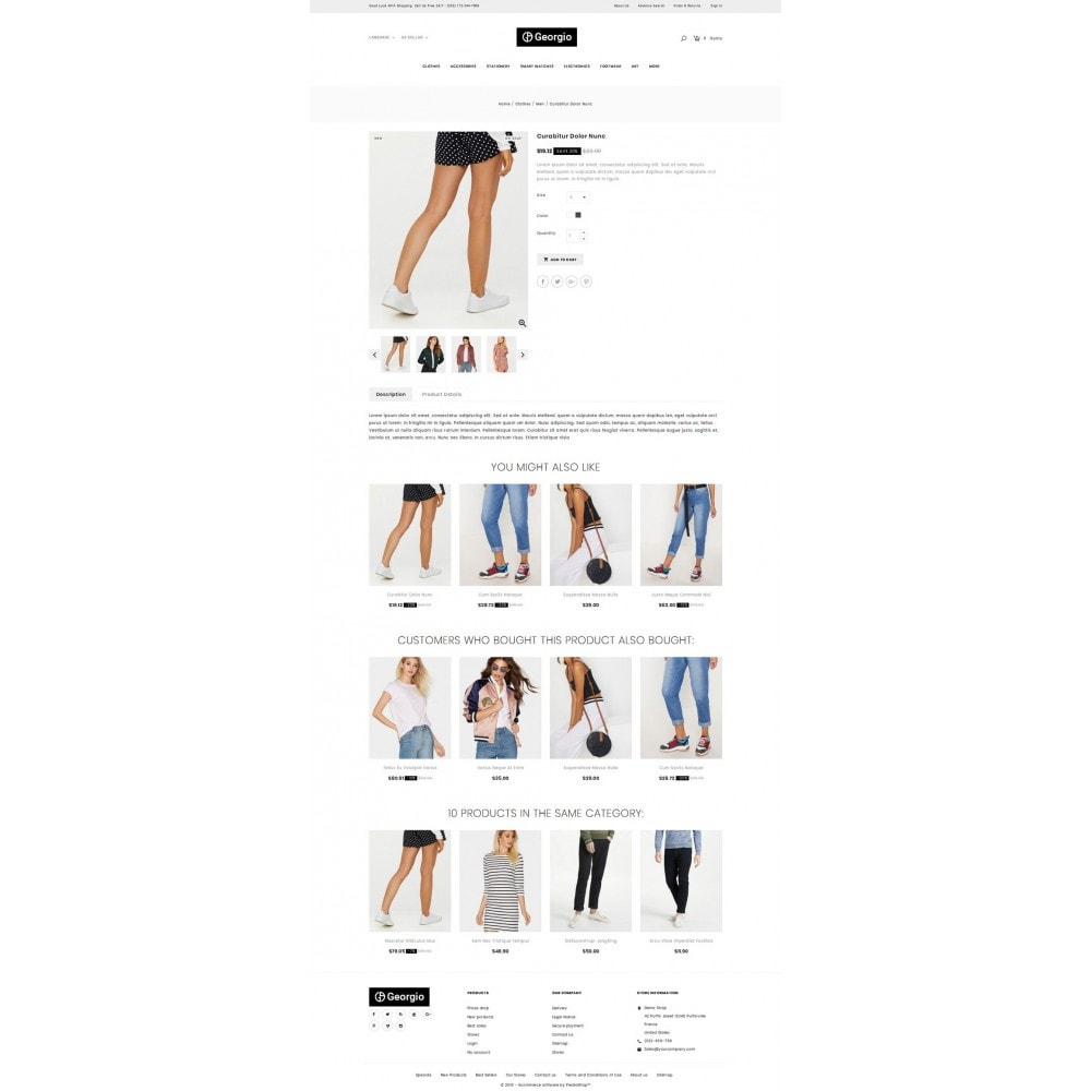 theme - Fashion & Shoes - Georgio - Fashion Store - 4