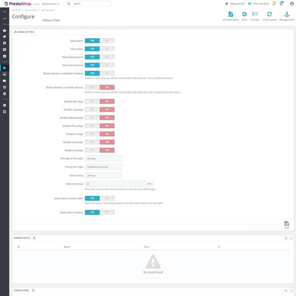 module - Paczkomaty & Odbiór w sklepie - Zaawansowana data dostawy Pro - 2