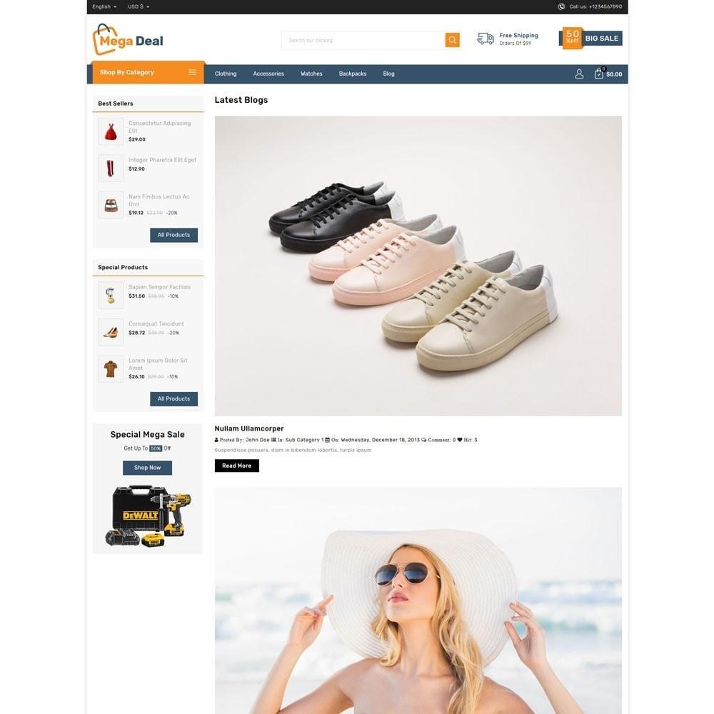 theme - Fashion & Shoes - Megadeal - Mega Store - 9