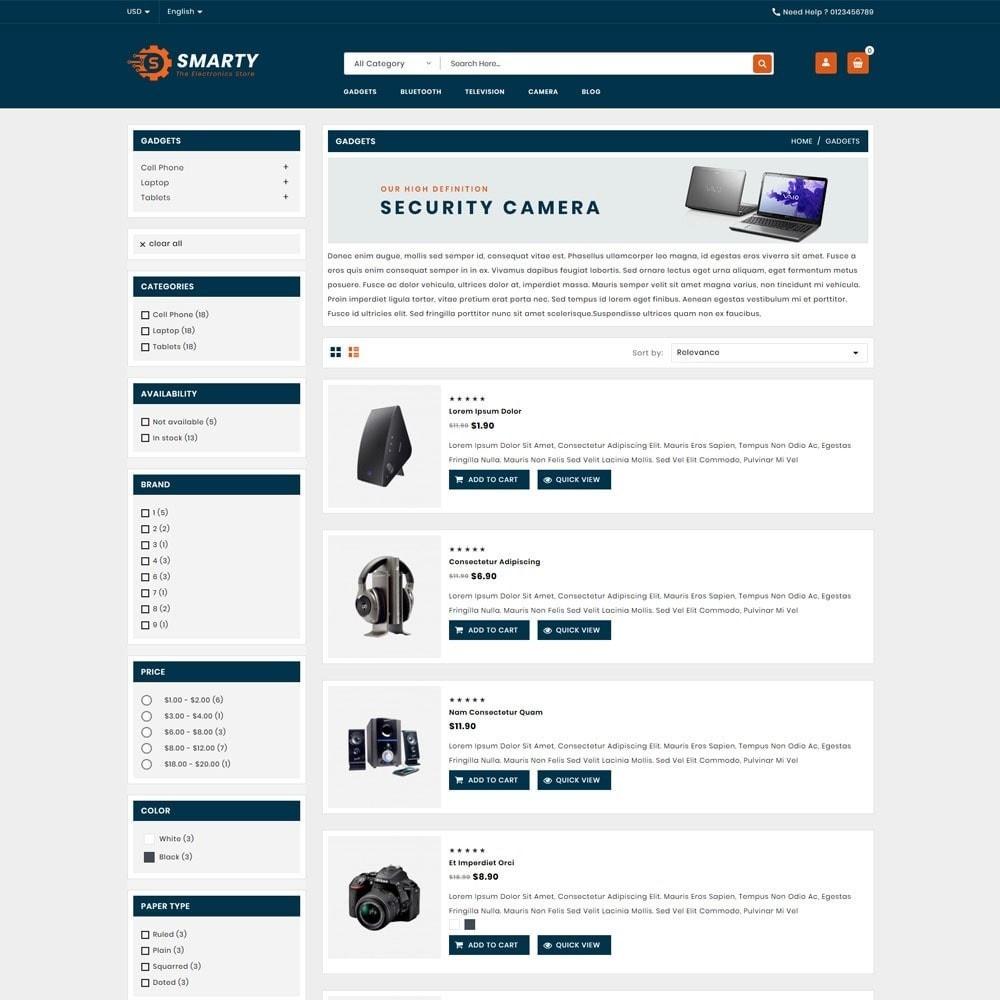 theme - Electronics & Computers - Smarty Electronics Shop - 4
