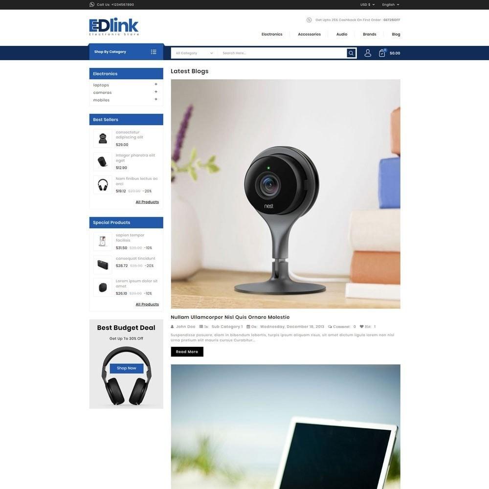 theme - Elektronica & High Tech - Edlink Electronic Store - 9