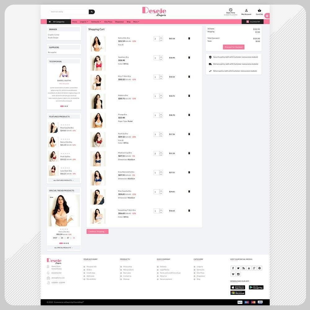 theme - Lingerie & Adulte - Deseje New Bikini – New Bikini Shop - 5