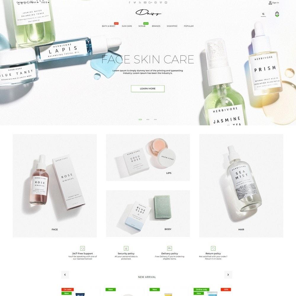 theme - Health & Beauty - Daisy Cosmetics - 2