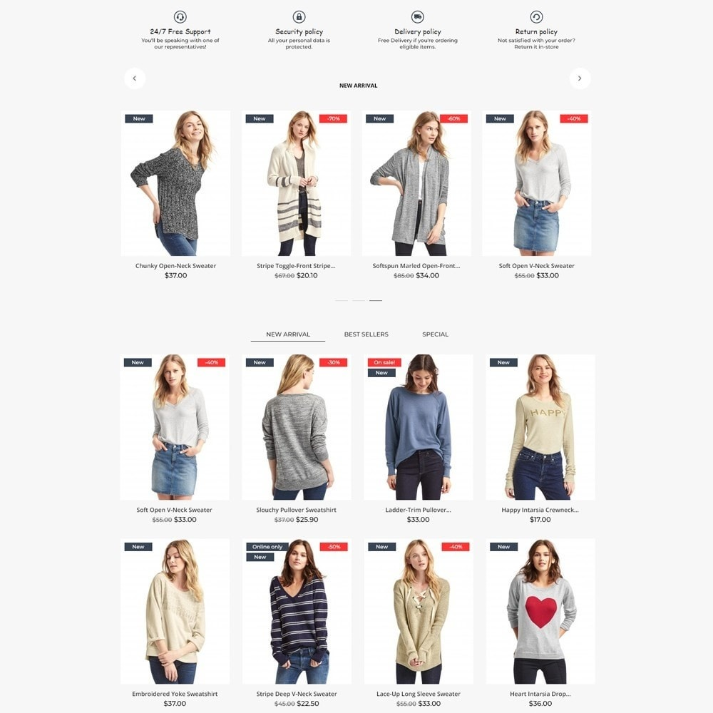 theme - Fashion & Shoes - Axioma Fashion Store - 3