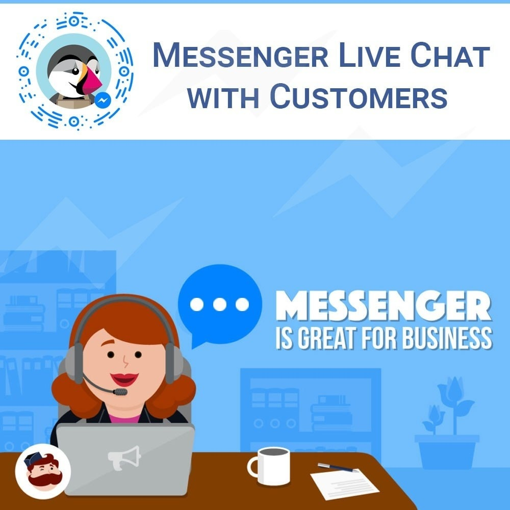 module - Support & Online-Chat - Facebook Messenger Chat - 1