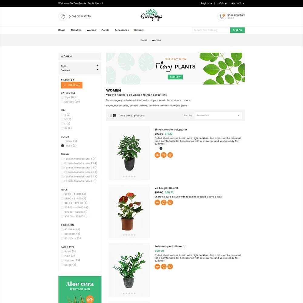 theme - Home & Garden - Greenfreys Garden Store - 3