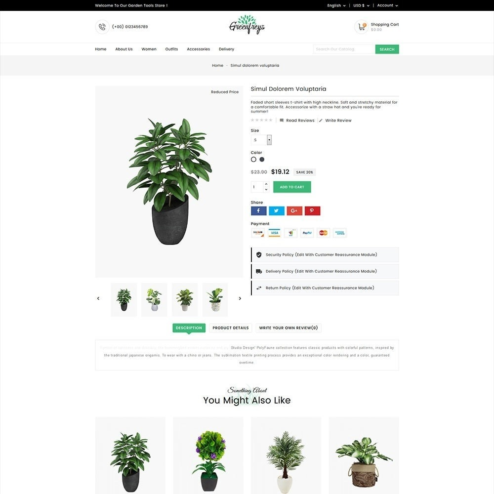 theme - Home & Garden - Greenfreys Garden Store - 5