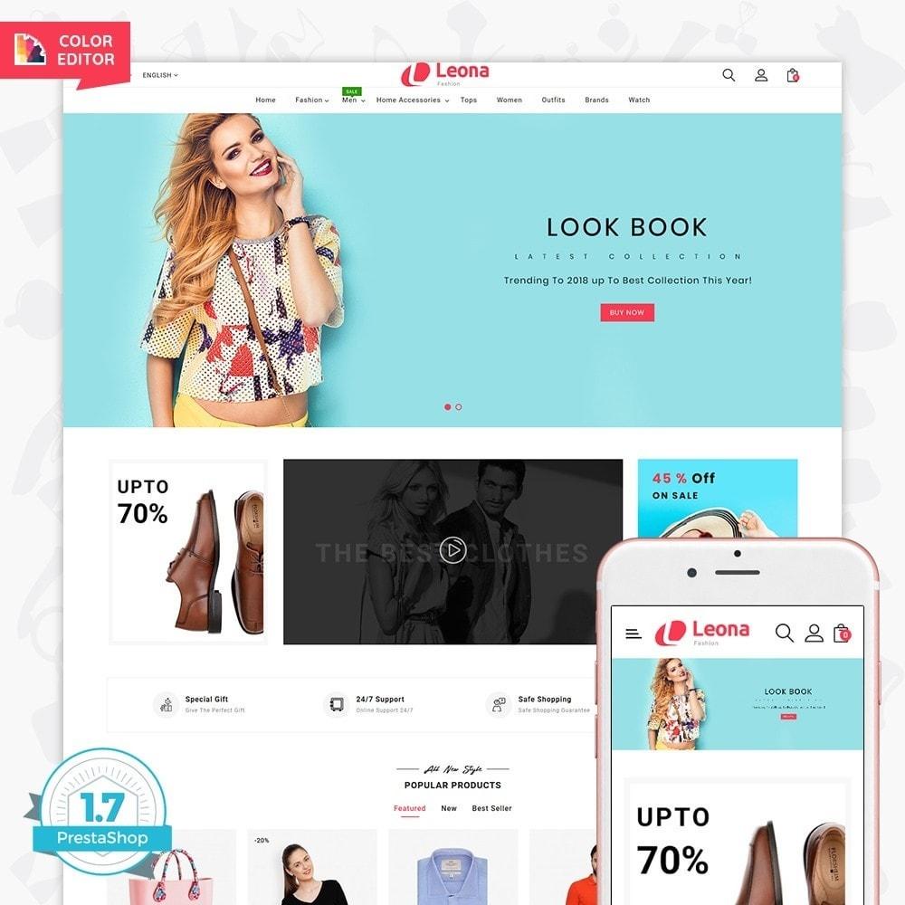 theme - Fashion & Shoes - Leona - The Fashion Store - 1