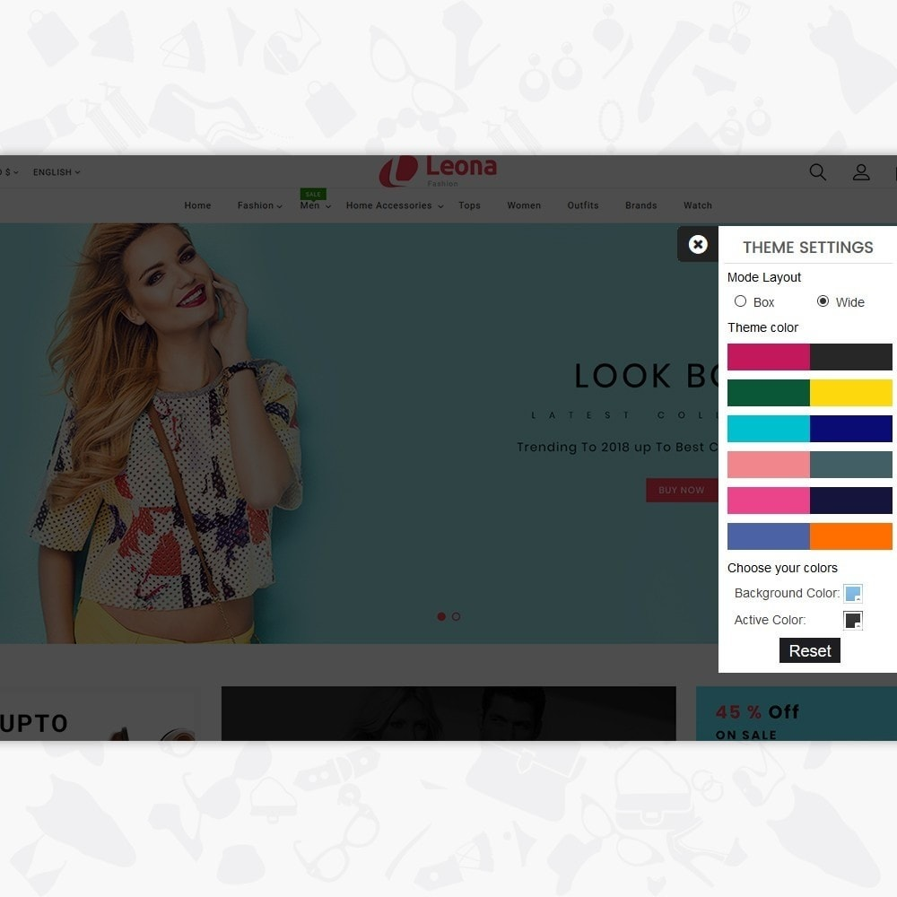 theme - Fashion & Shoes - Leona - The Fashion Store - 8