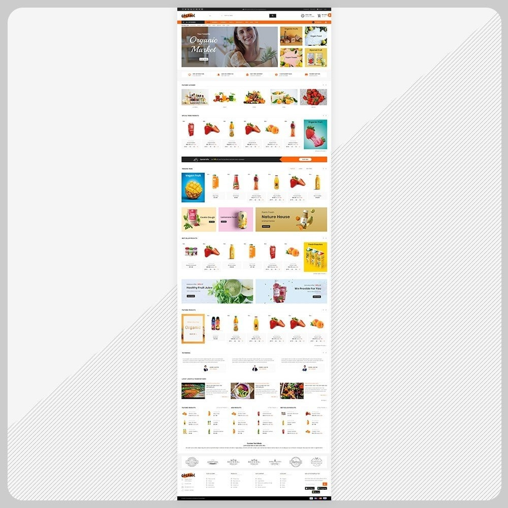 theme - Salute & Bellezza - Organic – The Organic Fruit Store - 2