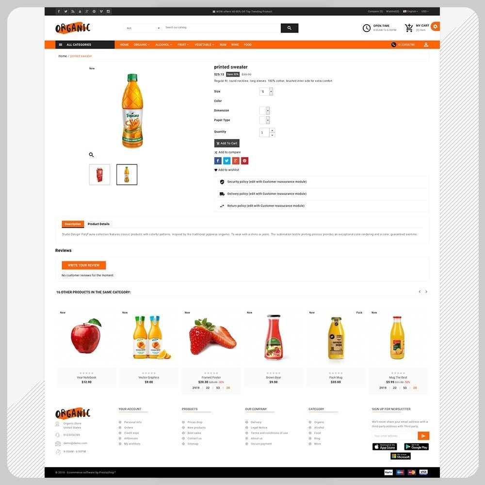 theme - Salute & Bellezza - Organic – The Organic Fruit Store - 4
