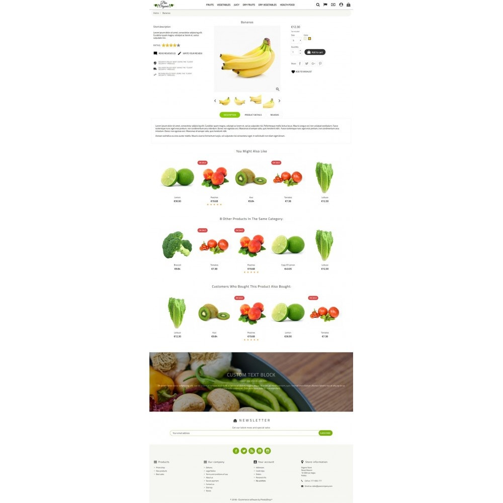 theme - Food & Restaurant - Bio Organic Store - 3